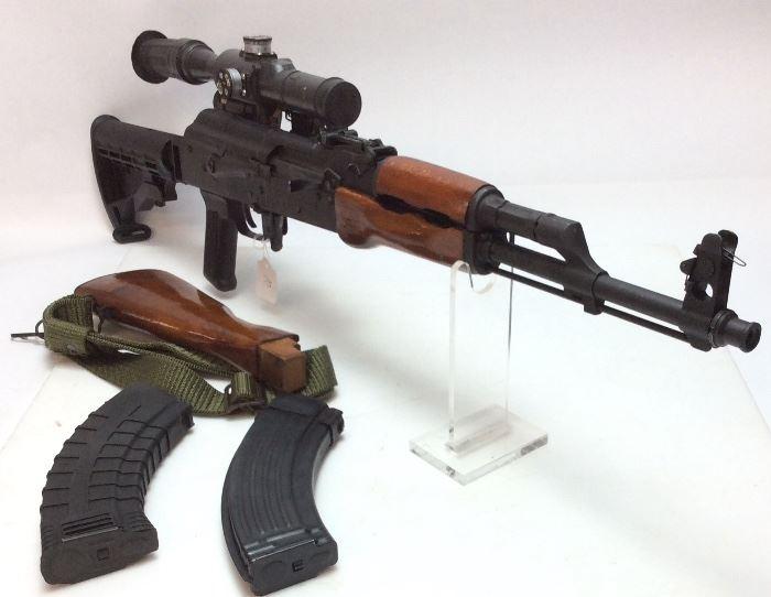 ROMARM AK-47 w RUSSIAN QUICK DETACH SCOPE