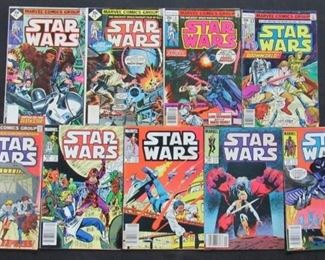 Located in: Chattanooga, TN Yr 1977-1985 MFG Marvel Star Wars Comic Books #3, 5, 6, 12, 32, 82, 83, 89, & 93 *Have Protective Covers*