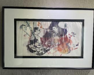JEFF JOHNSON OP ART 3-D
