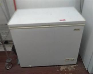 """37"""" by 21 1/2"""" by 32 1/4"""" Magic Chef Freezer"""