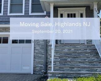 Moving Sale Highlands NJ