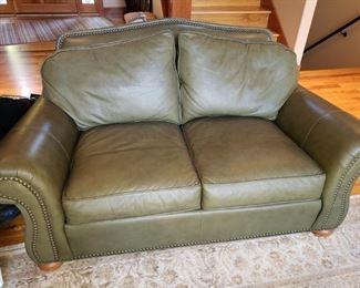 Wonderful Leather Sofa. Yummy!