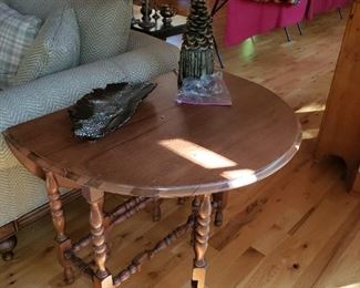Two of these Gateleg Tables used as end pieces