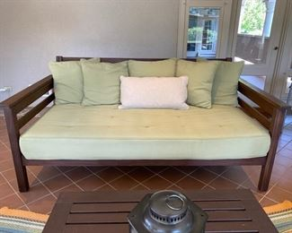 """Was $750.00  Now $375.00 Pottery Barn sofa                                                                                    38""""h x 83""""w x 44 1/2""""d"""