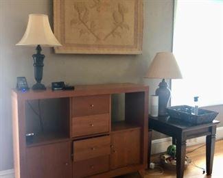 Modern cabinet with storage