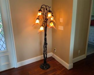 Tulip Floor Lamp available for presale. Please call Mimi @ 562-254-2597 for details.