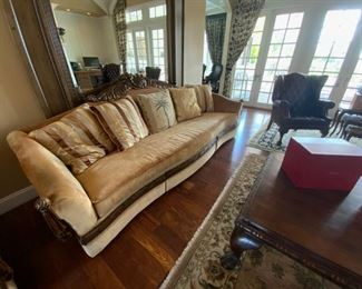 Couch available for presale. Please call Mimi @ 562-254-2597 for details.