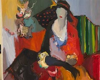 Original Oil on Canvas Tarkay