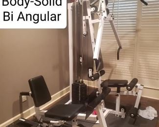 BODY SOLID BIANGULAR WORK OUT MACHINE