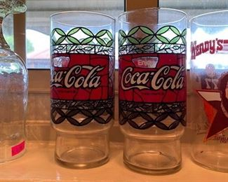 Coc-Cola and Cleveland Browns Glasses