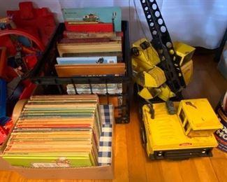 Disney Books, Tonka Crane, Childrens Books