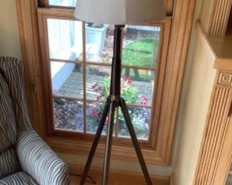 "tripod floor lamp measures 60"" high..presale $75"