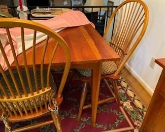 Pennsylvania House cherry table and chairs
