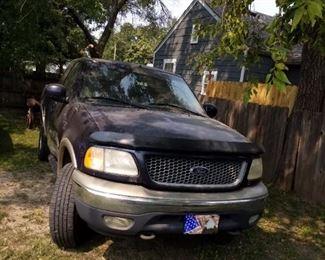 2000 Ford put 4 x 4 off road