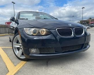 2008 BMW 335i Convertible. 106K miles. One owner. $14,500