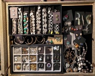 Sterling silver statement jewelry, 75% off all weekend!