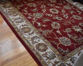 """Marcella Fine Rugs Indian Hand Tufted Wool 8' X 10"""""""