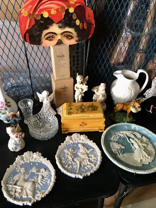 Jewelry Boxes, Collectors Plates, Angels, Lefton