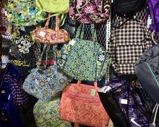 Vera Bradley purses and Bags, backpacks, Kipling