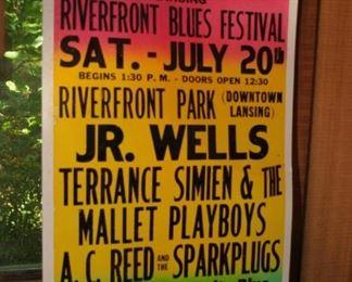 LANSING  MICHIGAN RIVERFRONT BLUES FESTIVAL JR WELLS