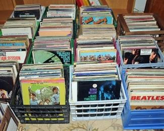 LARGE SELECTION OF VINYL LP's THE FINEST I HAVE EVER OFFERED.