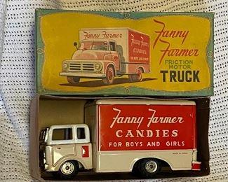 Boxed Marx friction truck Fanny Farmer