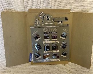 Wooden Gibson lighter advertising Sign