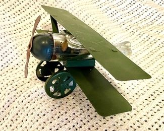 Early Bi-Plane candy container