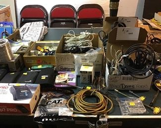 Electronics galore