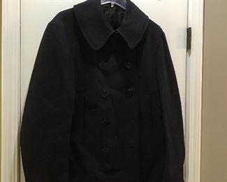 WW2 pea coat, great condition