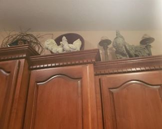 more roosters and other collectibles