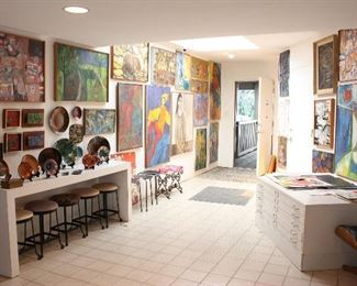 Mid-century Artist's Home in Brentwood