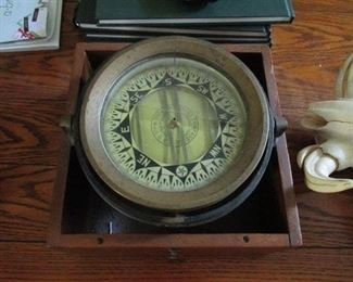 Vintage Ships Compass
