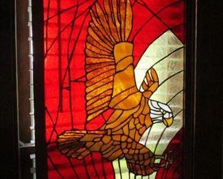 Lead Glass Eagle