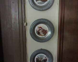 Pewter Collector Plates