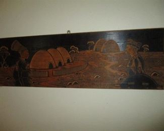 African Carved Wood Art