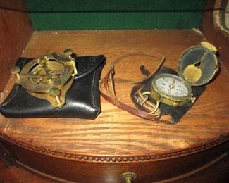 Vintage Sexton & Compass
