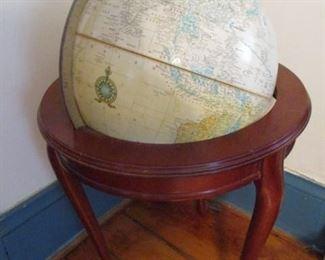 Floor Stand World Globe