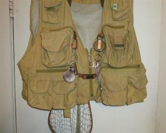 Fly Fishing Vest with Accessories