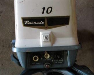10 Hp. Evinrude Outboard Motor