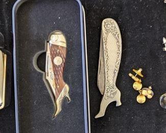 Lady's leg knives