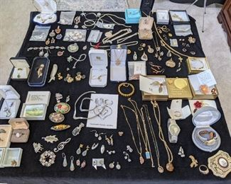 Gold and silver jewelry