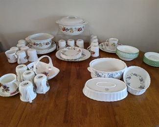 Corelle and Corningware dishes