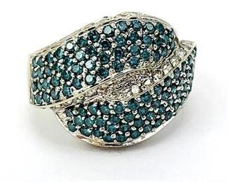 10k Blue Diamond