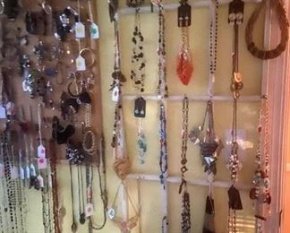 Jewlery - Necklaces, bracelets watches, rings, pins, earings