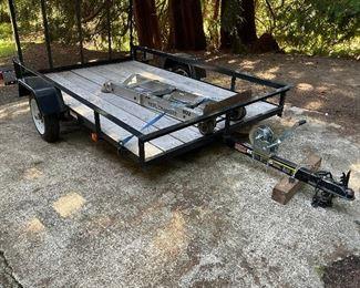 Utility Trailer - 6 x 10.