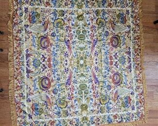 Silk Tapestry from Spain
