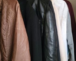 Leather and Wool Jackets