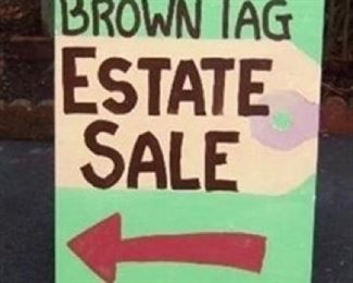 Look for the sign!