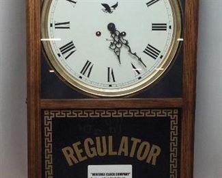 HERITAGE REGULATOR CLOCK WITH PENDULUM